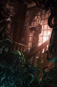2D Art: HP Lovecraft - 2D Digital, Concept art, Digital paintings