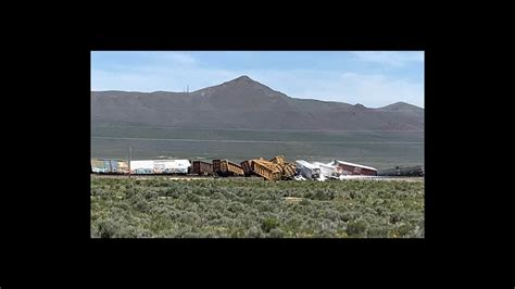 Train Carrying Explosives Derails In Nevada