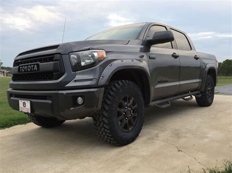 largest tires  stock trd pro page  toyota tundra forum