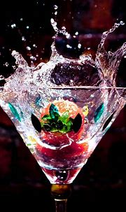 Drink Wallpaper for iPhone - 3D iPhone Wallpaper