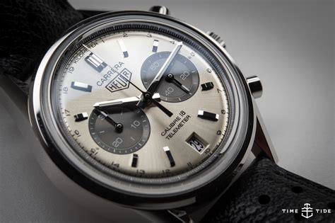 The Tag Heuer Carrera Calibre 18 Telemeter