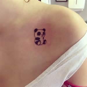Cute Panda Bear Tattoos