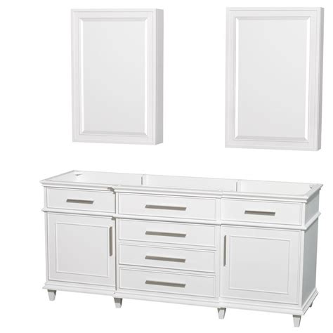 wyndham collection medicine cabinet wyndham collection berkeley 72 in double vanity with