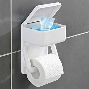 Dérouleur De Papier Toilette : d rouleur papier toilette 2 en 1 vitrine magique ~ Teatrodelosmanantiales.com Idées de Décoration