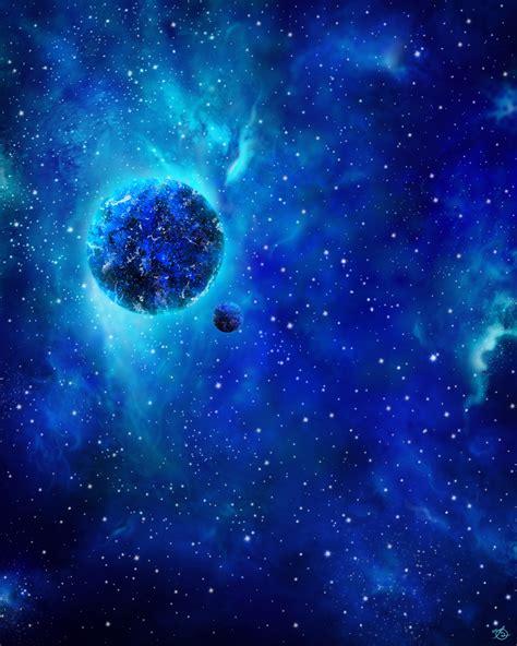 blue galaxy blue galaxy by o v on deviantart