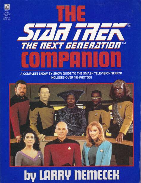 The Companion trek the next generation companion memory alpha