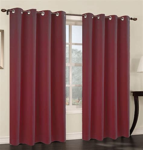 Choose curtains online from our wide range of window, door and other types of curtains at spotlight. Set of 2 Blackout Curtain Panels with Grommets - 7 Colors - urbanest