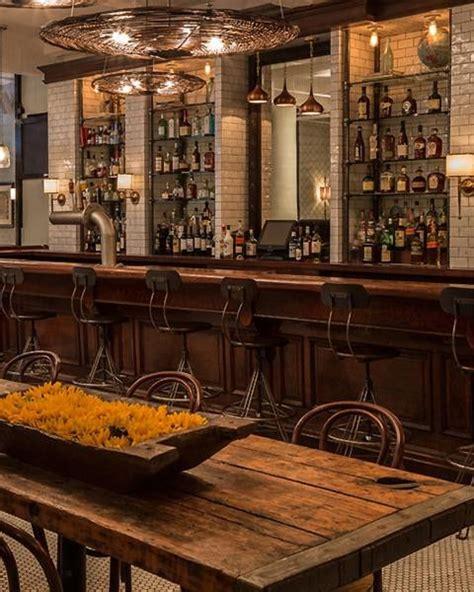 elegant industrial style home bar ideas