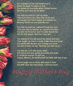 Short Poems For Your Mom From Daughter | Poemdoc.or