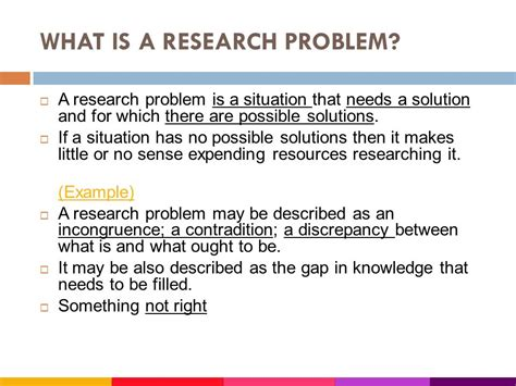 writing problem statement  research  science