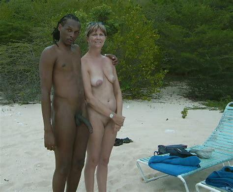interracial beach outdoor boy toy bbc ebony milf mother