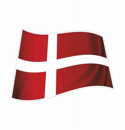 Flag Dannebrog Transparent Denmark Dk Cosign 2nd