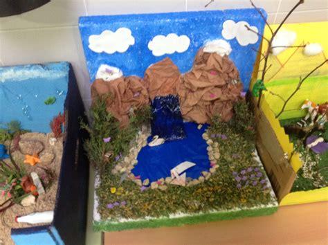 maqueta de ecosistema maqueta de ecosistema los alumnos de 5 186 de primaria