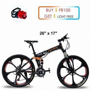 Ebike Mountain Bike : cyrusher mtb folding mountain bike 26 in 24 speeds full ~ Jslefanu.com Haus und Dekorationen