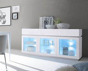 Otto Sideboard Weiß : sideboard mit glaseinsatz zela 3 t rig breite 184 cm online kaufen otto ~ Indierocktalk.com Haus und Dekorationen