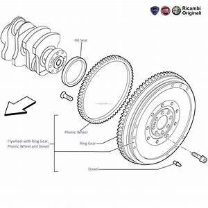Fiat Punto 1 3 Mjd Diesel  Flywheel