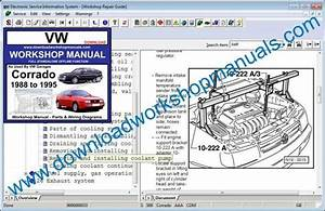 Vw Corrado Workshop Service Repair Manual