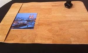 Schreibtischunterlage Selber Machen : schreibtischunterlage aus kork unterlagen tisch und ~ Watch28wear.com Haus und Dekorationen