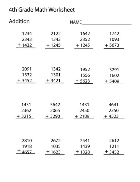 grade math worksheets activity shelter