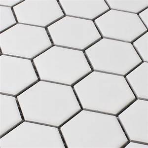 Carrelage Hexagonal Blanc : carrelage hexagonal blanc id es de ~ Premium-room.com Idées de Décoration