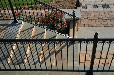 patio railings wrought iron gate fence railing welding