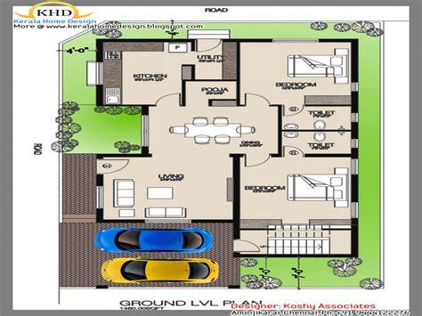 single house floor plans indian single house floor plan simple single floor house
