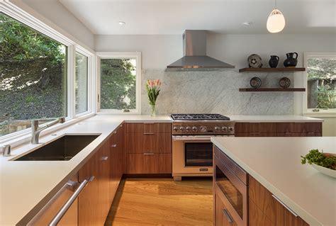 midcentury modern kitchen remodel   oakland hills