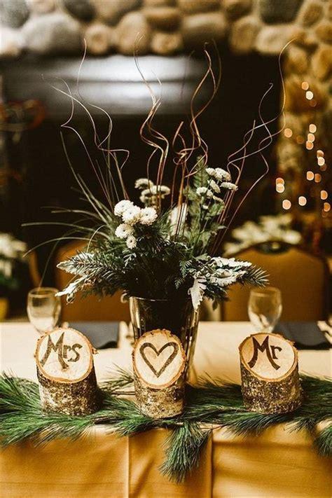 50 Romantic And Comfortable Rustic Winter Wedding