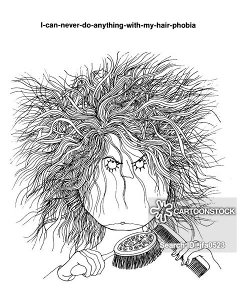 bad hair day cartoons  comics funny pictures