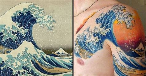beautiful japanese wave tattoos tattoodo
