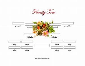 3 generation family tree with siblings template trees With family tree templates with siblings