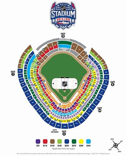 Stadium Seating Chart Series Yankee Nhl Ticket