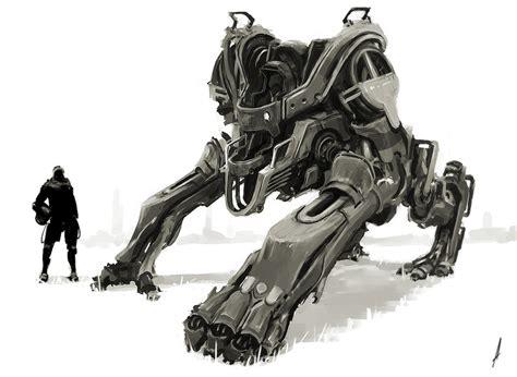 Le Dã Corative E Concept Wars by Concept Robots Concept Robot Art By Andrew Ley