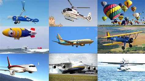 Airplanes For Kids  Air Vehicles Names  Learn Planes, Jets, Air Transport Vehicles, Cargo