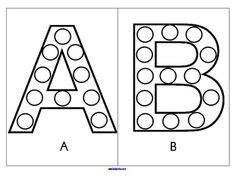 6 best images of printable bingo dauber dot activities