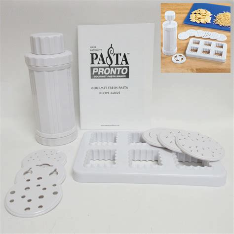 Pronto Pasta Maker pasta pronto gourmet noodle and ravioli maker machine as