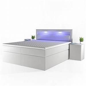 Gelschaum Topper 180x200 : design boxspringbett led doppelbett bett hotelbett ehebett ~ Lateststills.com Haus und Dekorationen