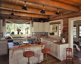 Log Cabin Kitchen Lighting Ideas by Practical Lighting Tips For Log Homes