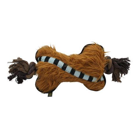 Fetch for Pets Star Wars Chewbacca Plush Bone Rope Dog Toy ...
