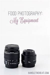 Food Photography: My Equipment - Handle the Heat