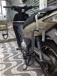 Rack Suporte Honda Biz 125 100 Transporte Prancha Surf