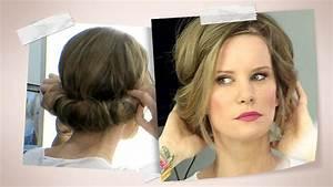 Frisuren Mit Haarband Anleitung : hippie frisur zum eindrehen video tutorial mit monica ivancan ~ Frokenaadalensverden.com Haus und Dekorationen