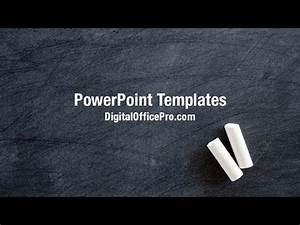 blackboard powerpoint template bountrinfo With chalkboard powerpoint templates free download