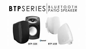 Osd Audio Bluetooth Patio Outdoor Speaker Pair Series