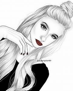 outlines tumblr girl | İnci_seda | Pinterest | Outlines ...