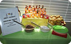 Mad Science Birthday Party: The Decor & Food
