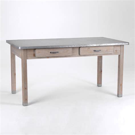 table cuisine avec tiroir table de cuisine avec tiroir maison design bahbe com