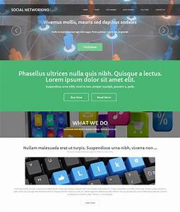 25 social media website themes templates free for Social networking sites free templates download
