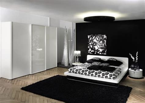 Black Contemporary Bedroom Furniture Set  Home Designs