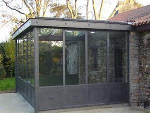 Veranda à L Ancienne : veranda verriere pr sentation de verri re v randa en acier ~ Premium-room.com Idées de Décoration
